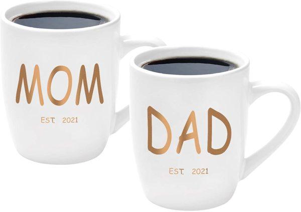 Mom and Dad Mug Set