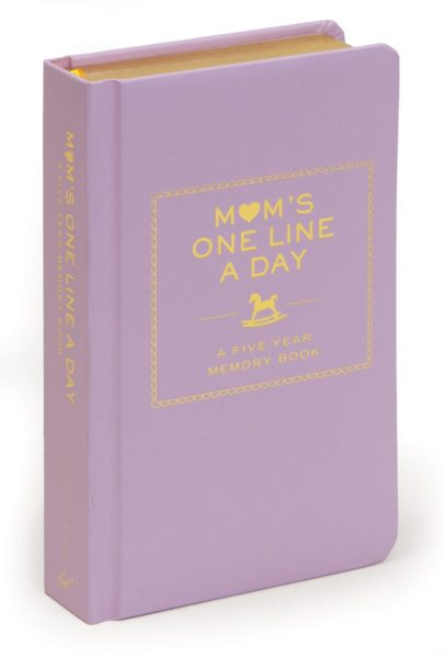 Mom's One Line a Day: Five-Year Journal