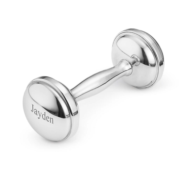 Pewter Rattle