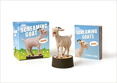 The Screaming Goat (Book & Figure)
