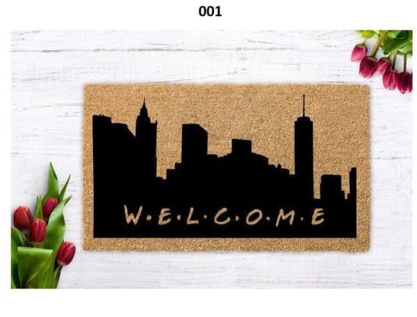 Friends Welcome, Friends TV doormat