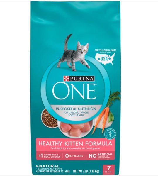 Purina One Natural Healthy Kitten Dry Food