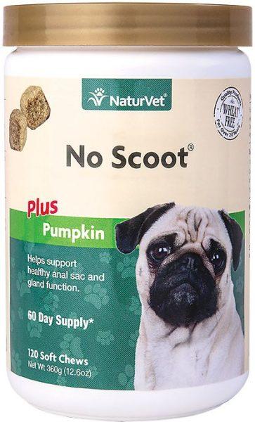 NaturVet No Scoot Dog Soft Chews