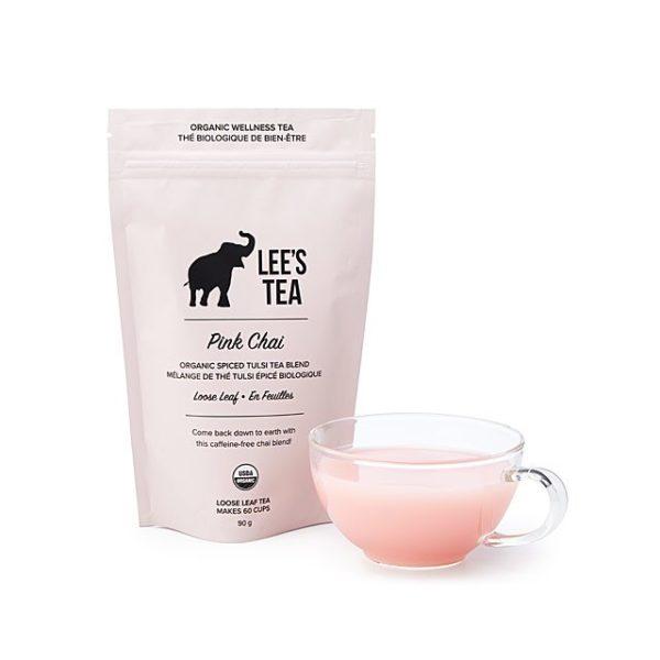 Pink Chai Tea