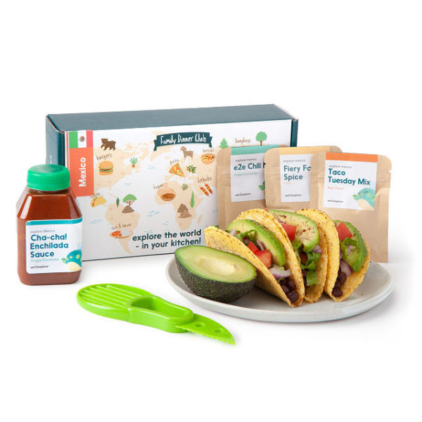 Kid's Global Adventure Cooking Kit