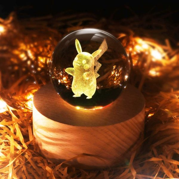 3D Crystal Ball LED Night Light