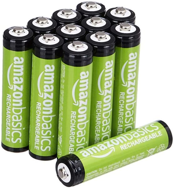AmazonBasics AAA Rechargeable Batteries