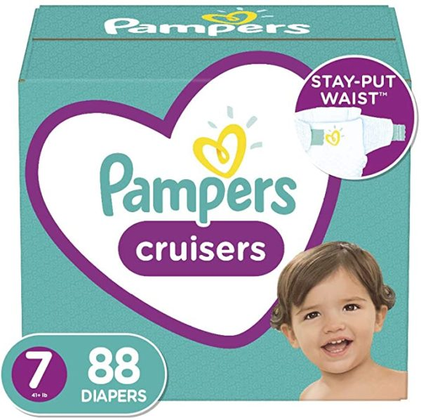 Diapers Size 6, 108 Count - Pampers Cruisers Disposable Baby Diapers