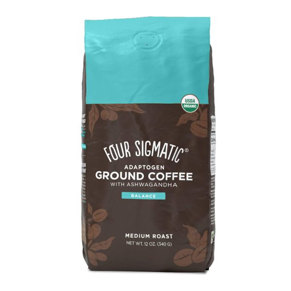 Four Sigmatic Adaptogen Ground Coffee, Organic