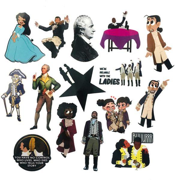 Hamilton Vinyl Stickers