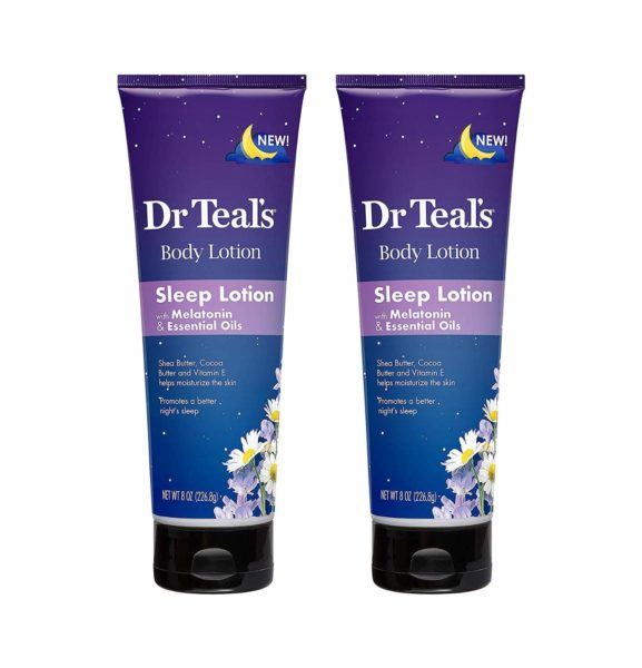 Dr. Teal's Night Time Therapy Melatonin Body Lotion