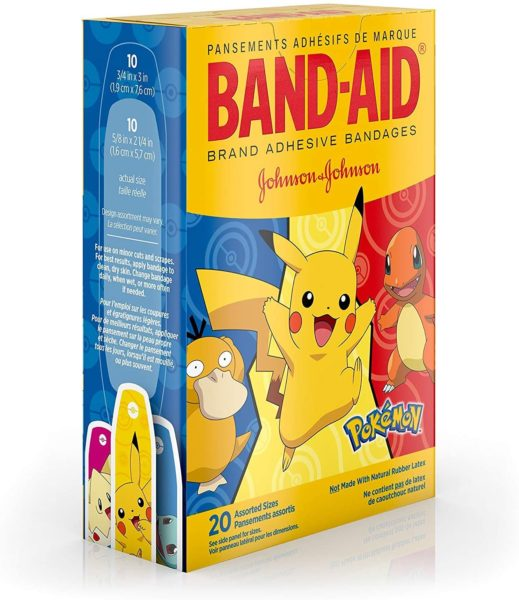 Brand Kids Adhesive Bandages for Minor Cuts