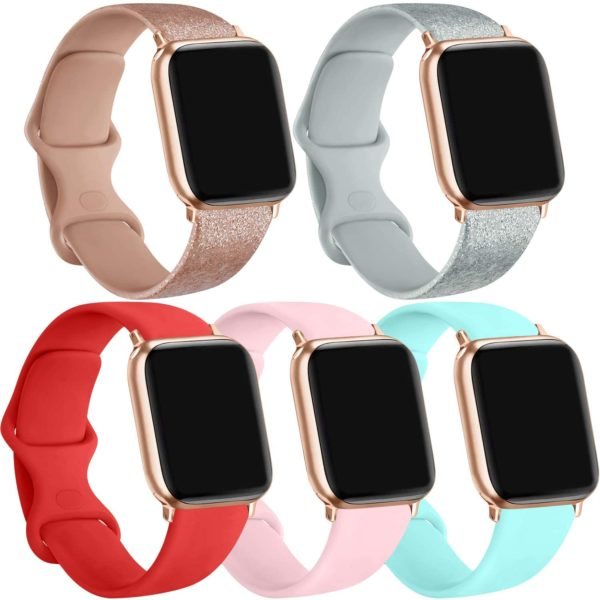 5 Pack Silicone Bands