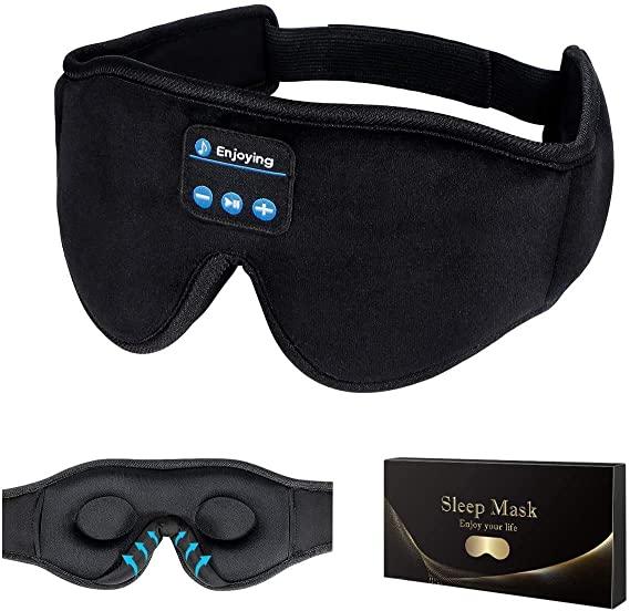 Sleep Headphones,3D Sleep Mask Bluetooth 5.0