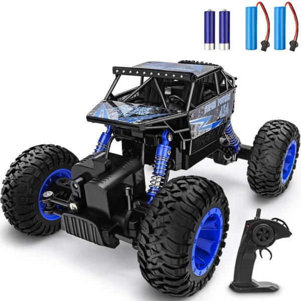 RC Car 1:18 Large Scale, 2.4Ghz All Terrain Waterproof Remote Control