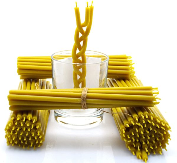 Nontoxic Natural Beeswax Candles