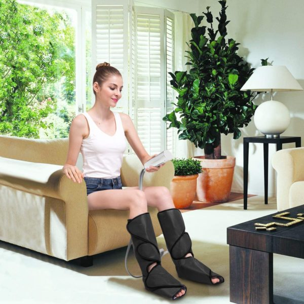 Leg Massager with Heat Air Compression Massage for Foot & Calf