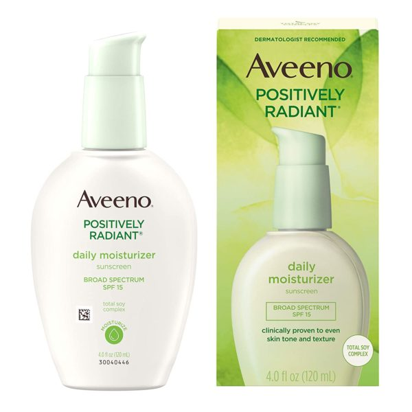 Aveeno Positively Radiant Daily Facial Moisturizer