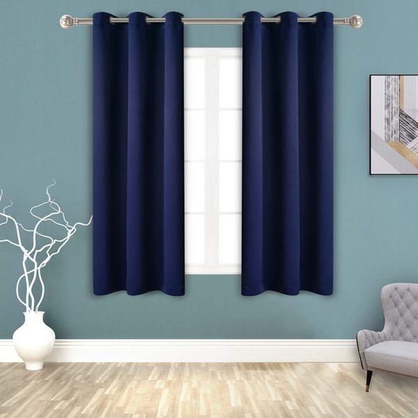Grommet Blackout Curtains for Bedroom