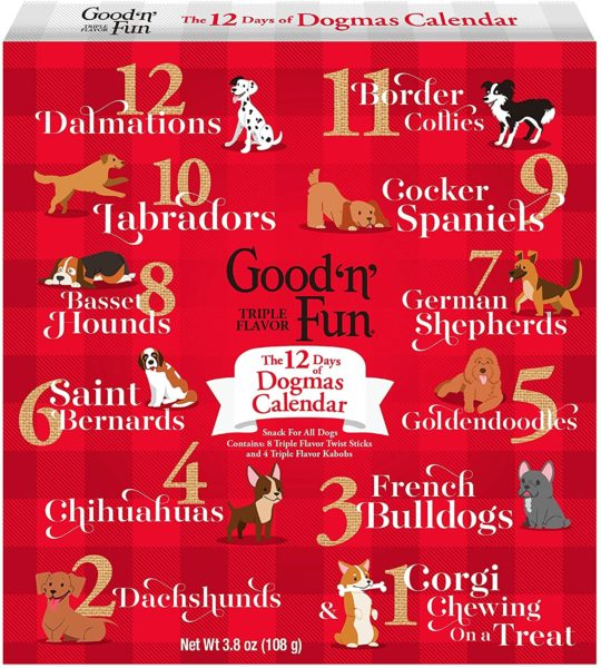 12 Days of Dogmas Good'N'Fun Holiday Chews & Treats