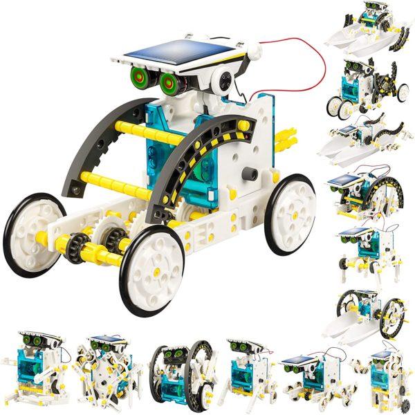 Solar Power Robots Creation Toy