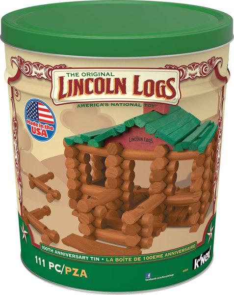 LINCOLN LOGS –100th Anniversary Tin