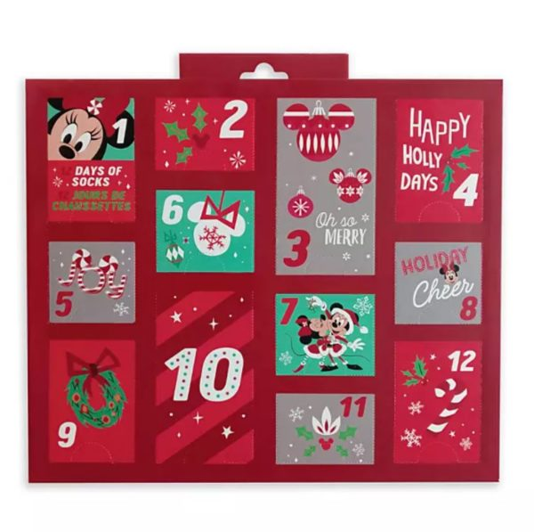 Holiday Advent Sock Calendar For Women