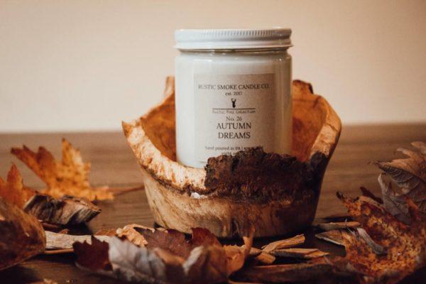 Rustic Smoke Candle Co. Autumn Dreams