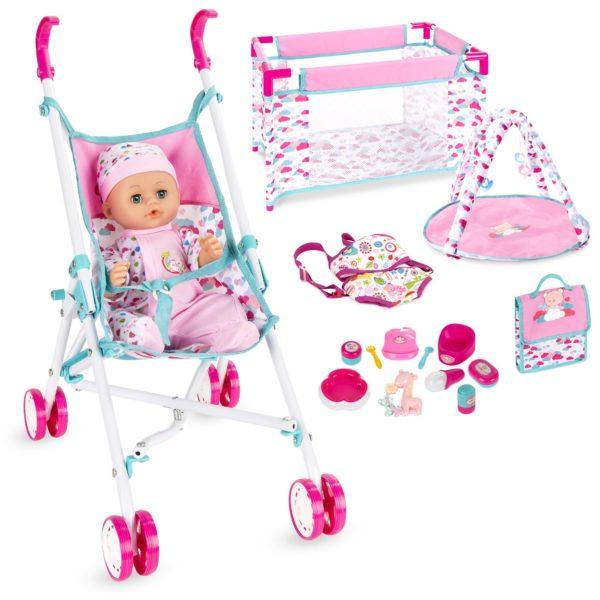 15-Piece Baby Doll Nursery