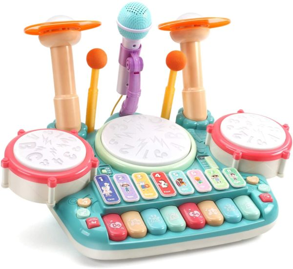 Cute Stone 5-in-1 Musical Instrument