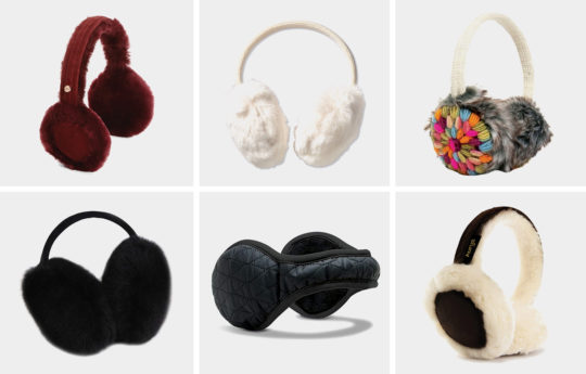 10 Cute and Warm Earmuffs for Women
