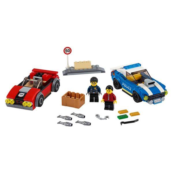 LEGO City Police Highway Arrest Building Set