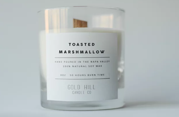 Goldhill Candle Co. - Toasted Marshmallow