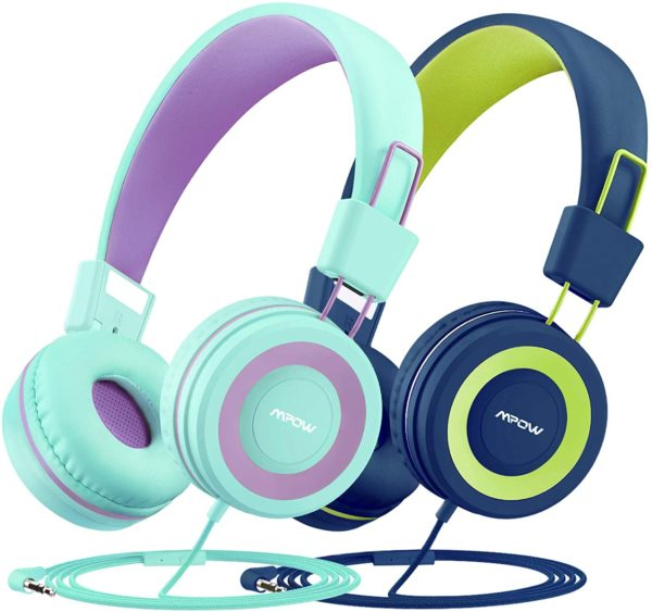 Kids Headphones with Microphone 2 Pack