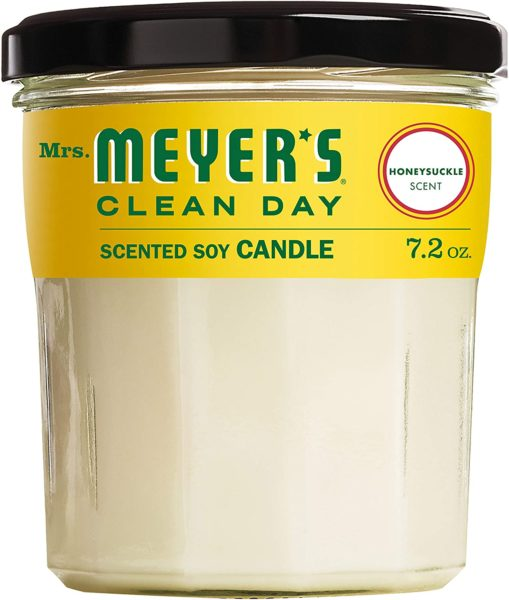 Mrs. Meyer's Clean Day Soy Candle - Honeysuckle