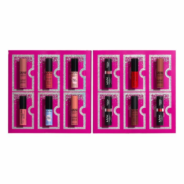 NYX Professional Makeup Diamonds & Ice 12 Day Lipstick Advent Calendar