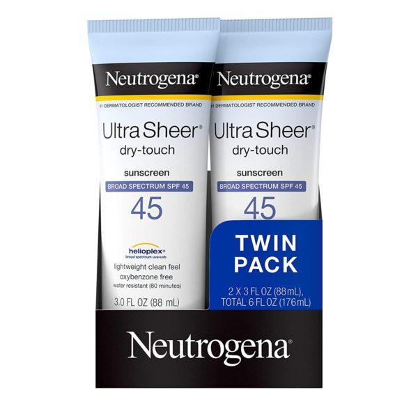 Neutrogena Ultra Sheer Sunscreen Lotion