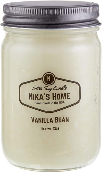 Nika's Home Soy Candle - Vanilla Bean