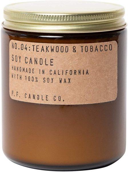 P.F. Candle Co. - Teakwood & Tobacco