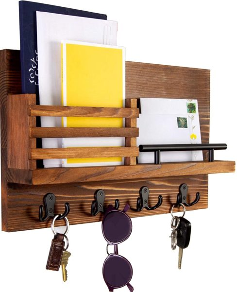 Ripple Creek Key Holder For Wall and Mail Shelf