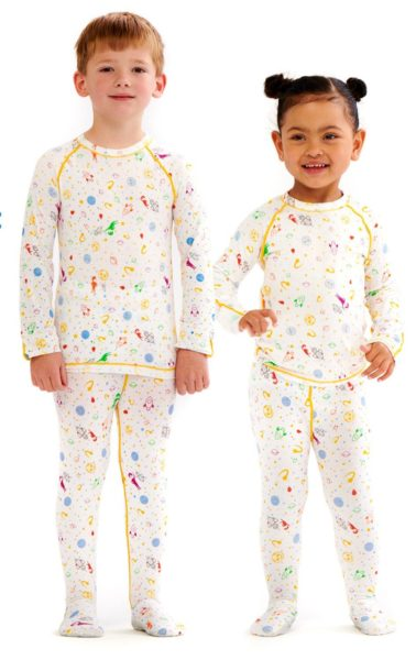 ECZEMA PAJAMAS KIDS SET FOR WET WRAP THERAPY AND ITCH RELIEF