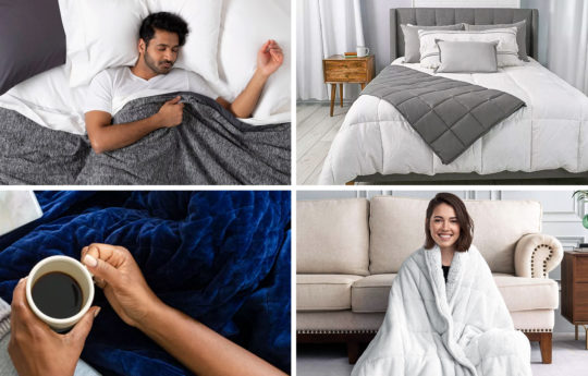 The 9 Best Weighted Blankets (Based On Customer Reviews)