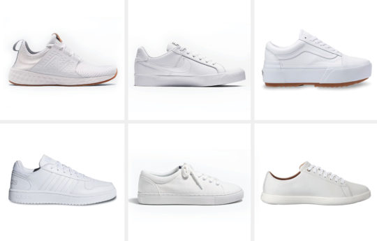Our Top 10 Favorite White Sneakers for Women