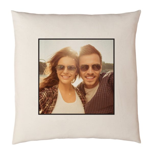 """Personalized Photo Accent Pillow 15""""x15"""""""