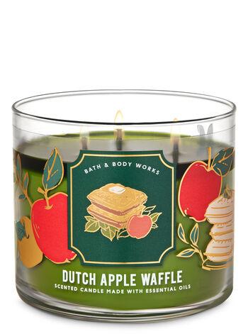 Bath & Body Works Dutch Apple Waffle 3-Wick Candle