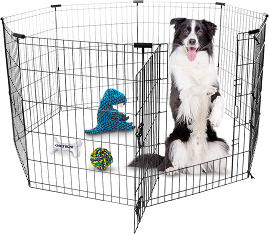 Frisco Wire Dog Exercise Pen with Step-Through Door