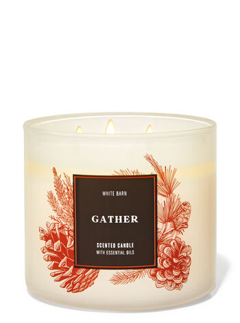 Bath and Body Works Gather 3-Wick Candle
