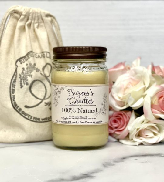 Organic Beeswax Candle