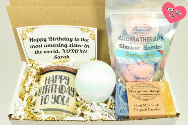 Custom Birthday Gift Box