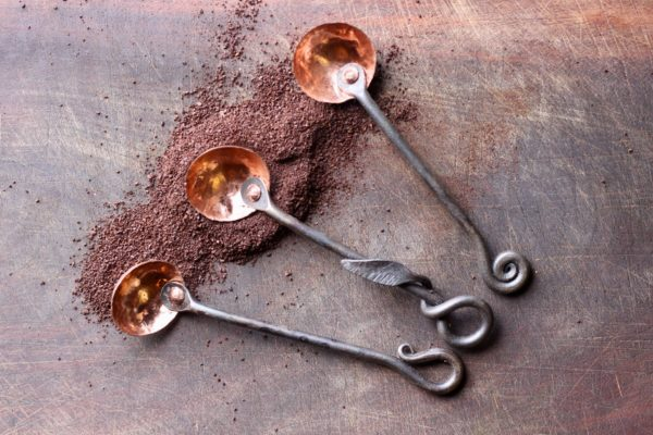 Coffee Scoop Blacksmith Forged